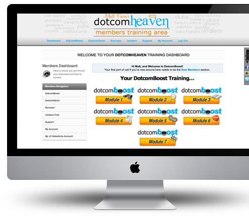 dotcomheaven...coming soon.