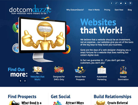 dotcomdazzle websites